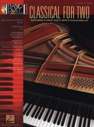 Classical For 2 Partition Piano - laflutedepan