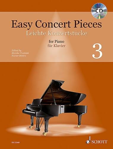 Easy Concert Pieces Volume 3 - Partition - laflutedepan.com