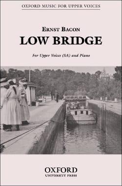 Low Bridge Ernst Bacon Partition Chœur - laflutedepan