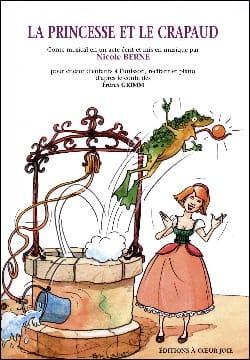 La Princesse et le Crapaud Nicole Berne Partition laflutedepan
