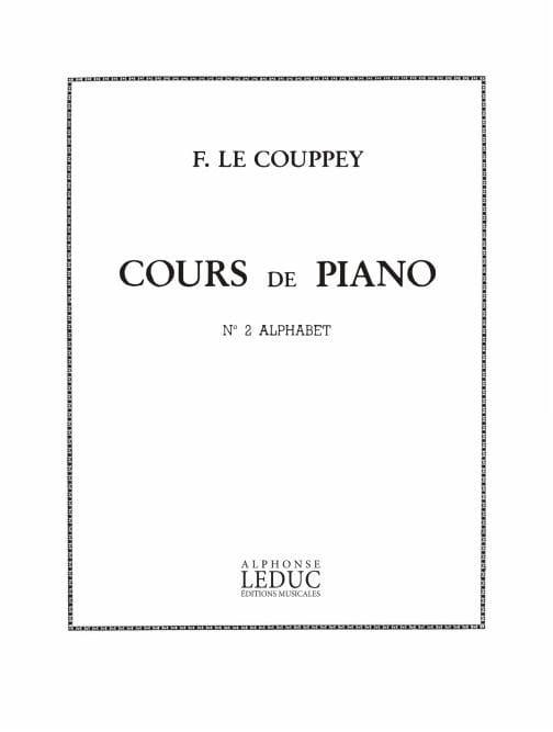 N° 2 Alphabet Opus 17 - Couppey Le - Partition - laflutedepan.com