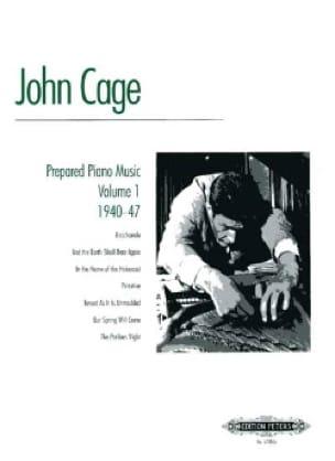 Musique Pour Piano Préparé Volume 1 - CAGE - laflutedepan.com