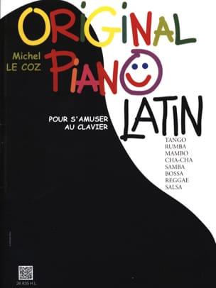 Original Piano Latin Michel LE COZ Partition Piano - laflutedepan