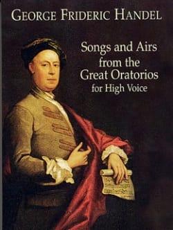 HAENDEL - Canciones y aires de los grandes oratorios. Voz alta. - Partition - di-arezzo.es