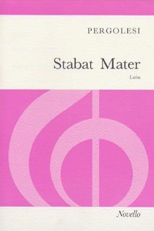 Stabat Mater Arrangement PERGOLESE Partition Chœur - laflutedepan