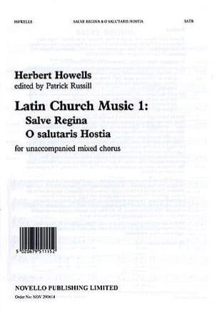 Salve Regina ; O Salutaris Hostia Herbert Howells laflutedepan