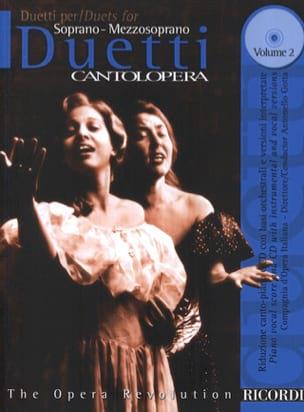 Duetti Volume 2 : Soprano-Mezzo Partition Duos - laflutedepan