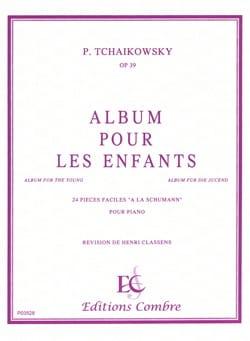 Album A la Jeunesse Opus 39 TCHAIKOVSKY Partition Piano - laflutedepan