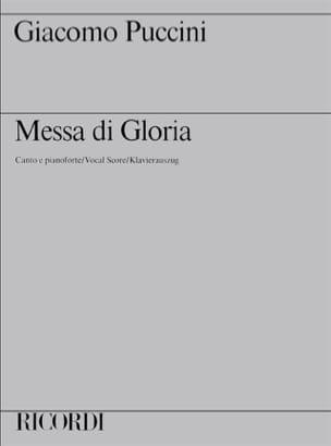 Missa Di Gloria - Messe du Gloria PUCCINI Partition laflutedepan
