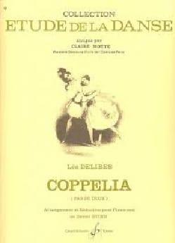 Coppelia. Pas de Deux DELIBES Partition Piano - laflutedepan