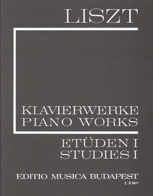 Etudes, Volume 1 Série 1, Volume 1 LISZT Partition laflutedepan