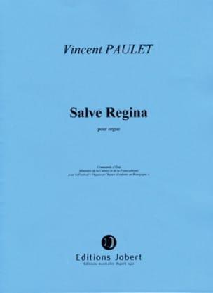 Salve Regina - Vincent Paulet - Partition - Orgue - laflutedepan.com