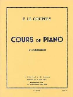 N°8 mécanisme. Couppey Le Partition Piano - laflutedepan
