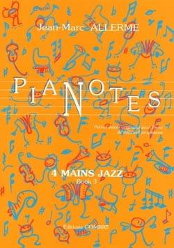 Pianotes 4 Mains Jazz Volume 3 Jean-Marc Allerme laflutedepan