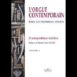 L'orgue Contemporain Volume 1 Partition Orgue - laflutedepan