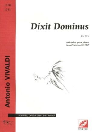 Dixit Dominus RV 595 - VIVALDI - Partition - Chœur - laflutedepan.com