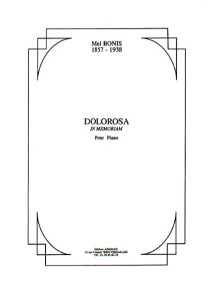 Dolorosa - Mel Bonis - Partition - Piano - laflutedepan.com