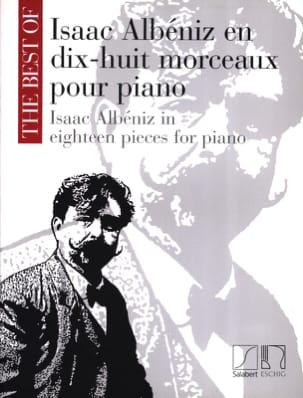 18 Morceaux Pour Piano ALBENIZ Partition Piano - laflutedepan