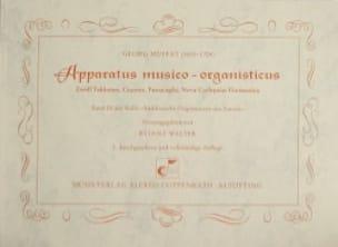 Apparatus Musico-Organisticus - Georg Muffat - laflutedepan.com
