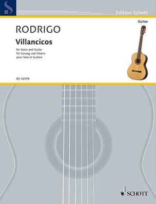 Joaquin Rodrigo - carols - Partition - di-arezzo.co.uk