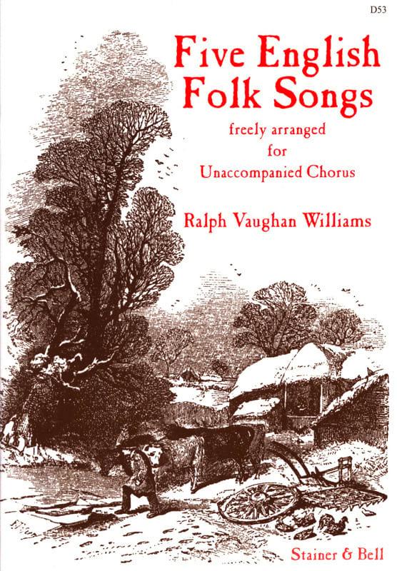5 English Folk Songs - WILLIAMS VAUGHAN - Partition - laflutedepan.com