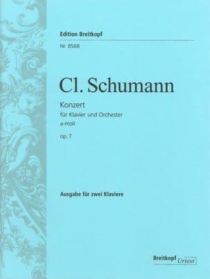 Concerto Pour Piano En la Mineur Opus 7 Clara Schumann laflutedepan