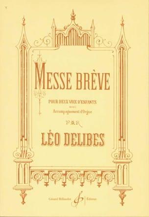 Léo Delibes - Brief Mass - Partition - di-arezzo.com