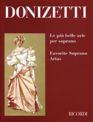 Gaetano Donizetti - The Piu Belle Arie Per Soprano - Partition - di-arezzo.com