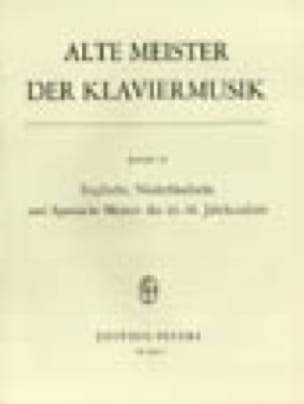 Alte Meister Der Klaviermusik 4 - Partition - laflutedepan.com