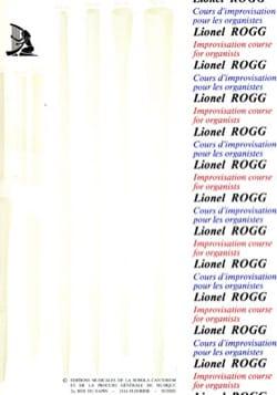 Cours d'Improvisation Tonale - Volume 1 Lionel Rogg laflutedepan