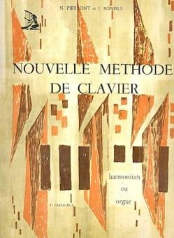 Nouvelle Méthode de Clavier - Volume 1 PIERRONT - BONFILS laflutedepan