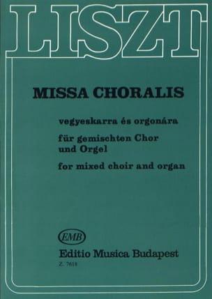Missa Choralis. LISZT Partition Chœur - laflutedepan