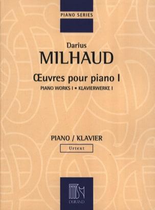 Oeuvres pour Piano - Volume 1 - MILHAUD - Partition - laflutedepan.com