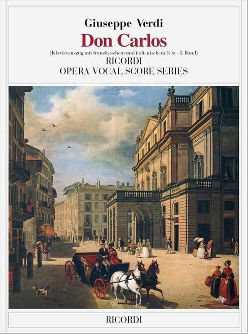 Don Carlos En 2 Volumes. 5 Actes - VERDI - laflutedepan.com
