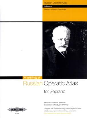 Russian Operatic Arias Soprano Partition Opéras - laflutedepan
