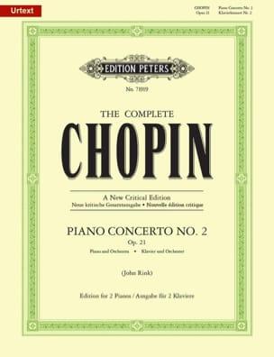 Concerto Pour Piano N° 2 en fa mineur Opus 21 CHOPIN laflutedepan