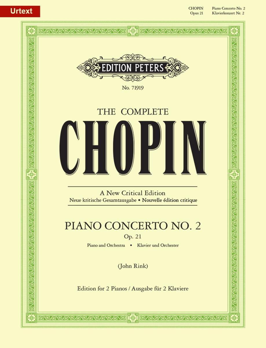 Concerto Pour Piano N° 2 en fa mineur Opus 21 - laflutedepan.com