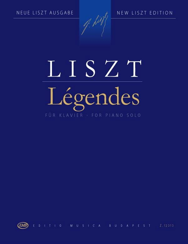 Légendes 1 et 2 - LISZT - Partition - Piano - laflutedepan.com