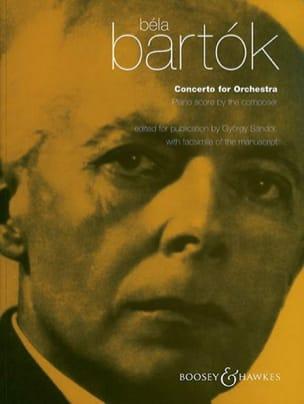 Concerto Pour Orchestre BARTOK Partition Piano - laflutedepan