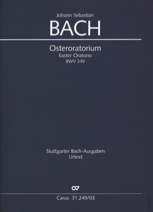 Osteroratorium BWV 249 BACH Partition Chœur - laflutedepan