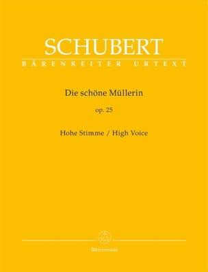 Die Schöne Müllerin Opus 25. Voix Haute SCHUBERT laflutedepan