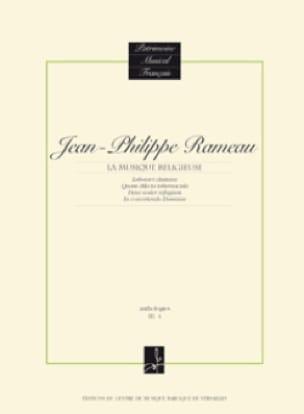 Musique Religieuse - RAMEAU - Partition - laflutedepan.com