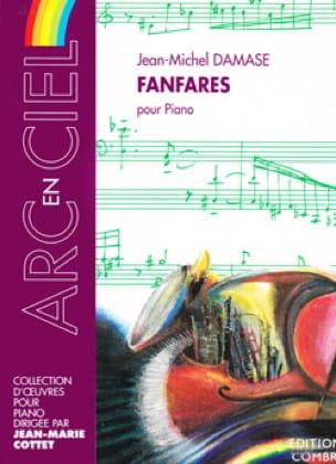 Fanfares Pour Piano - Jean-Michel Damase - laflutedepan.com