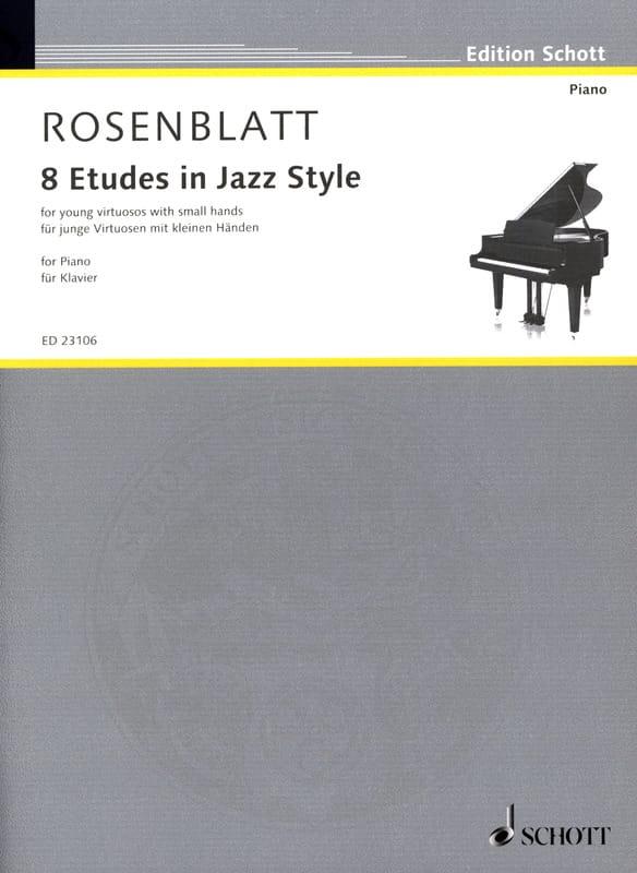 8 Etudes in Jazz Style - Alexander Rosenblatt - laflutedepan.com