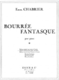 Bourrée Fantasque. 4 Mains CHABRIER Partition Piano - laflutedepan