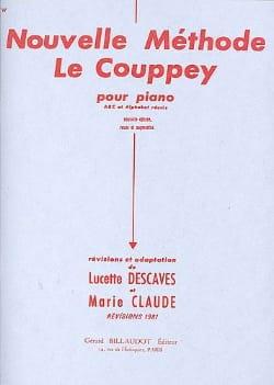 Nouvelle Méthode le Couppey Le Couppey / Descaves Lucette laflutedepan