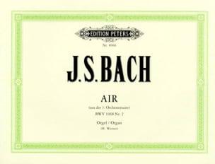 Air en ré de la Suite BWV1068 BACH Partition Orgue - laflutedepan