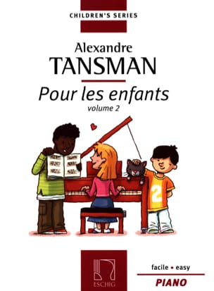 Pour les Enfants Volume 2 Alexandre Tansman Partition laflutedepan