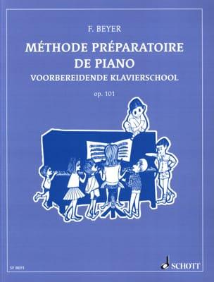 Méthode Préparatoire de Piano Opus 101 Ferdinand Beyer laflutedepan