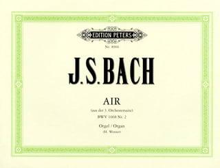 Air en ré de la Suite BWV1068 - BACH - Partition - laflutedepan.com